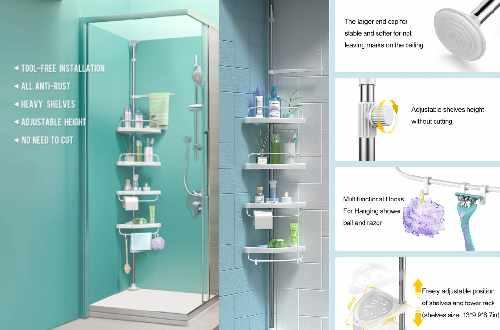 Corner Shower Caddies