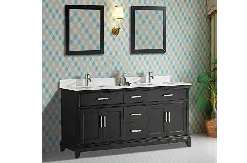 Vanity Art 72 Inch Double Sink Bathroom