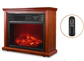 Electric-Fireplace-Heaters